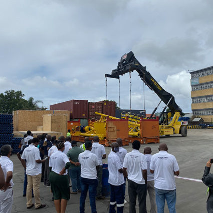 New spiller for the efficient handling of sugarcane is set to assist small-scale sugar farmers in KZN