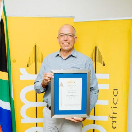 Bosch Projects receives Golden Arrow Award