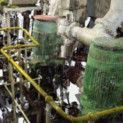 Colourised Scan Data of Ballast Pumps